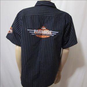 Harley Davidson Genuine Work Wear Paradise Shirt